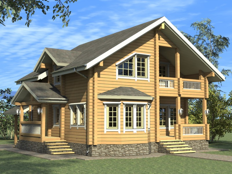 Дома 150-200м2 - проекты домов.
